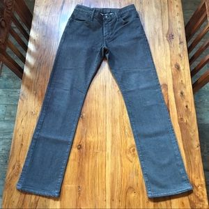 GoldSign Straight Leg Brown Jeans 33 x 32
